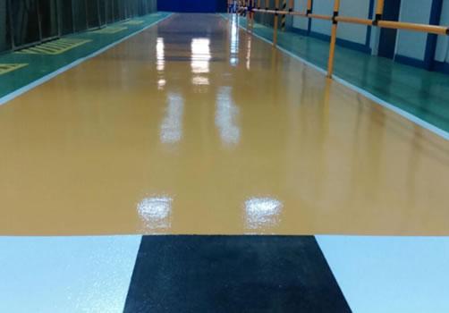 polyuerthane and resin flooring