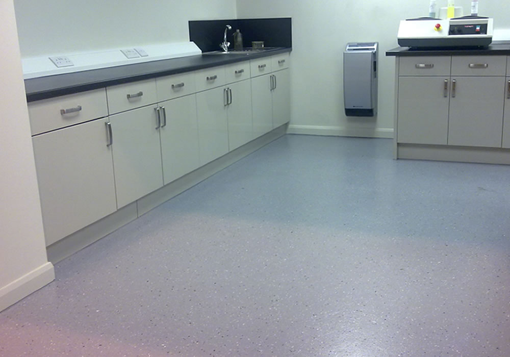 how resin flooring works in a classroom