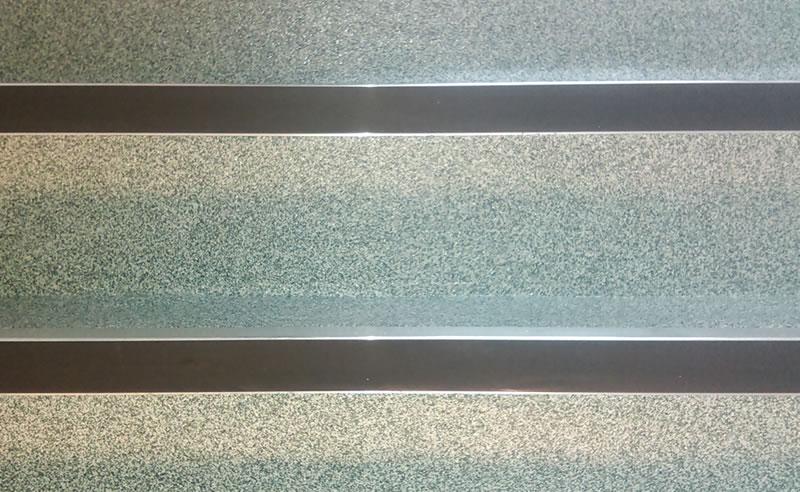 decorative quartz 4mm altro screed staircase