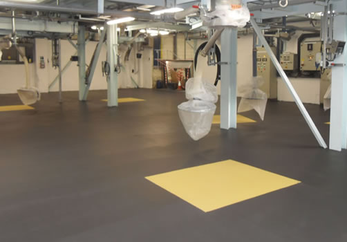 packaging resin flooring contractors