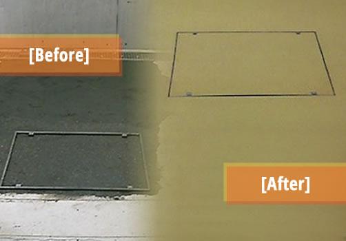 resin floor repairs concrete repairs