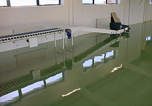 Pharmaceutical flooring systems