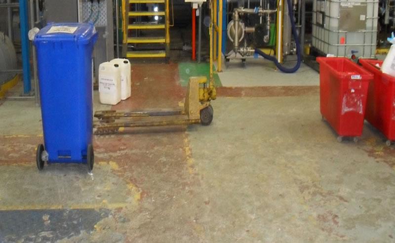 chemical plant epoxy coating ferfa type 3 resin flooring