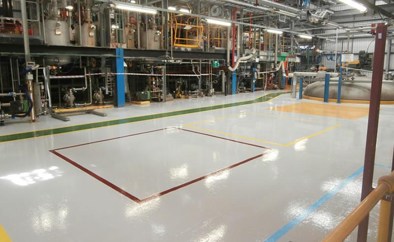 chemical plant epoxy coating ferfa type 3
