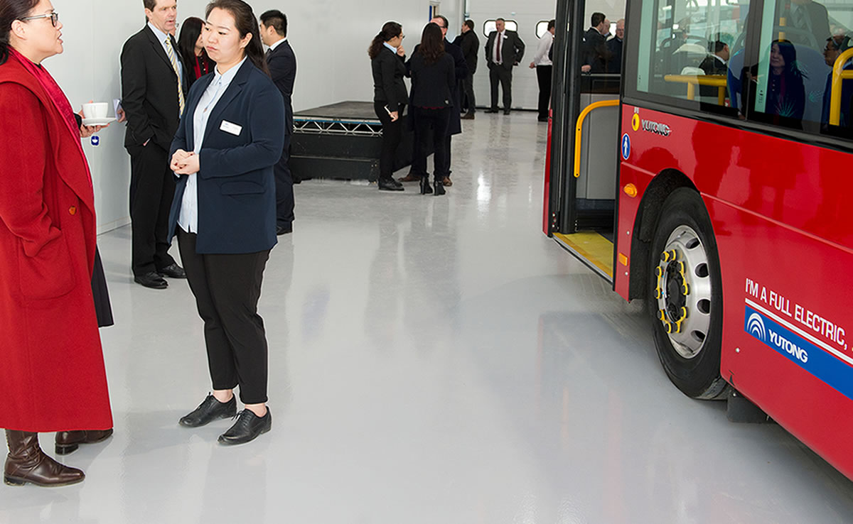 high build epoxy flooring bus and coach distributor