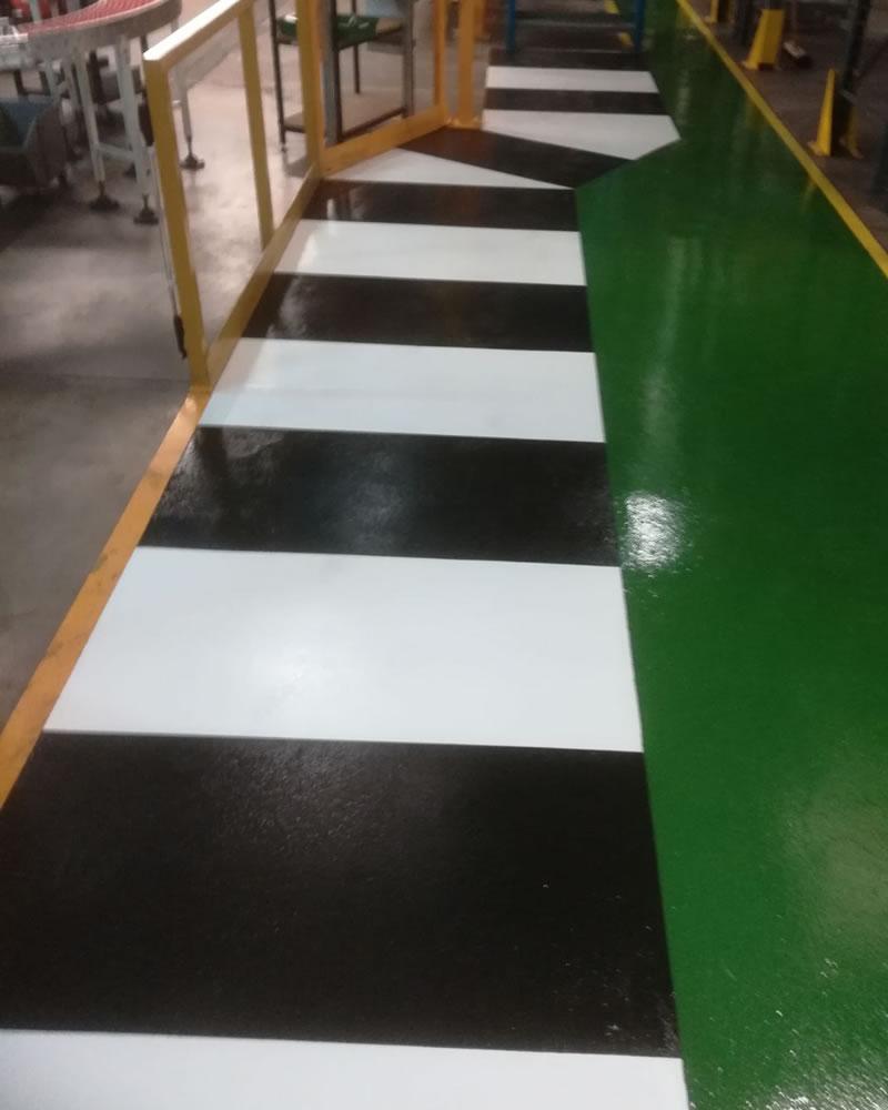 high build epoxy flooring demarcation pharmaceutical company 1