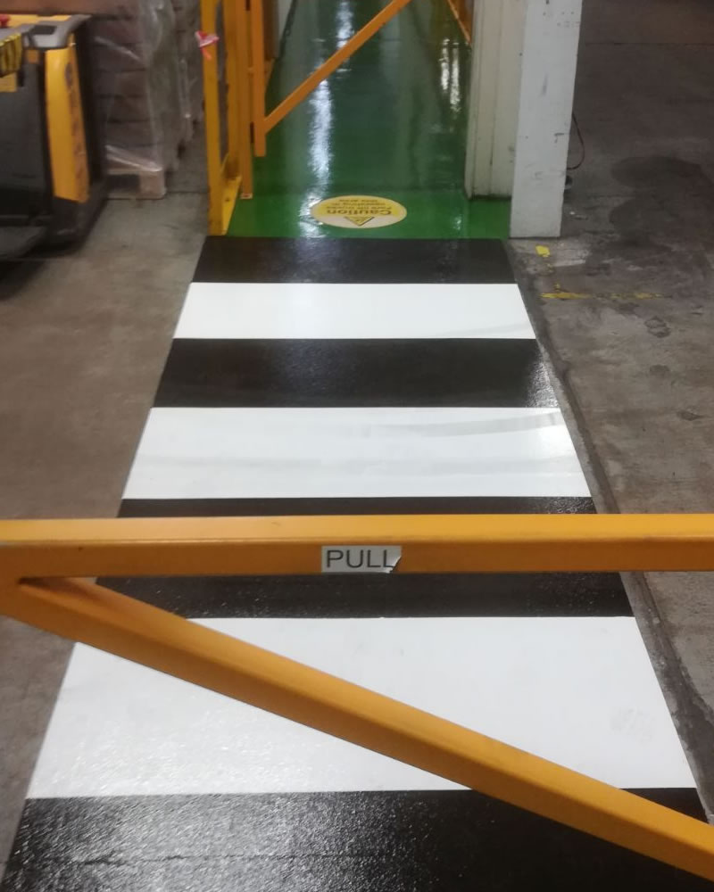 high build epoxy flooring demarcation pharmaceutical company