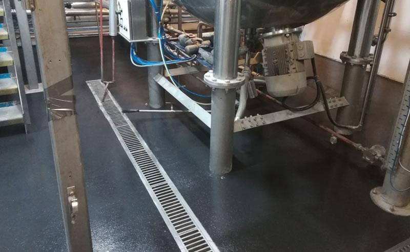 heavy duty polyurethane screed in choarcoal