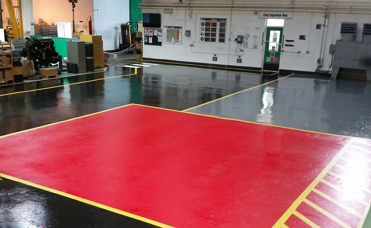 high build epoxy flooring type 3