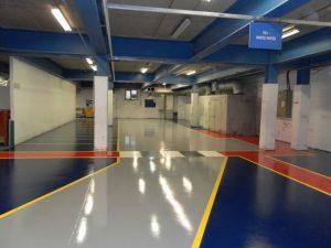 industrial resin flooring characteristics