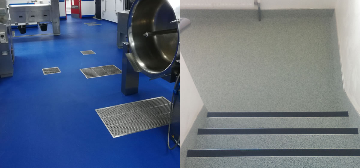 examples of resin flooring in the manchester area