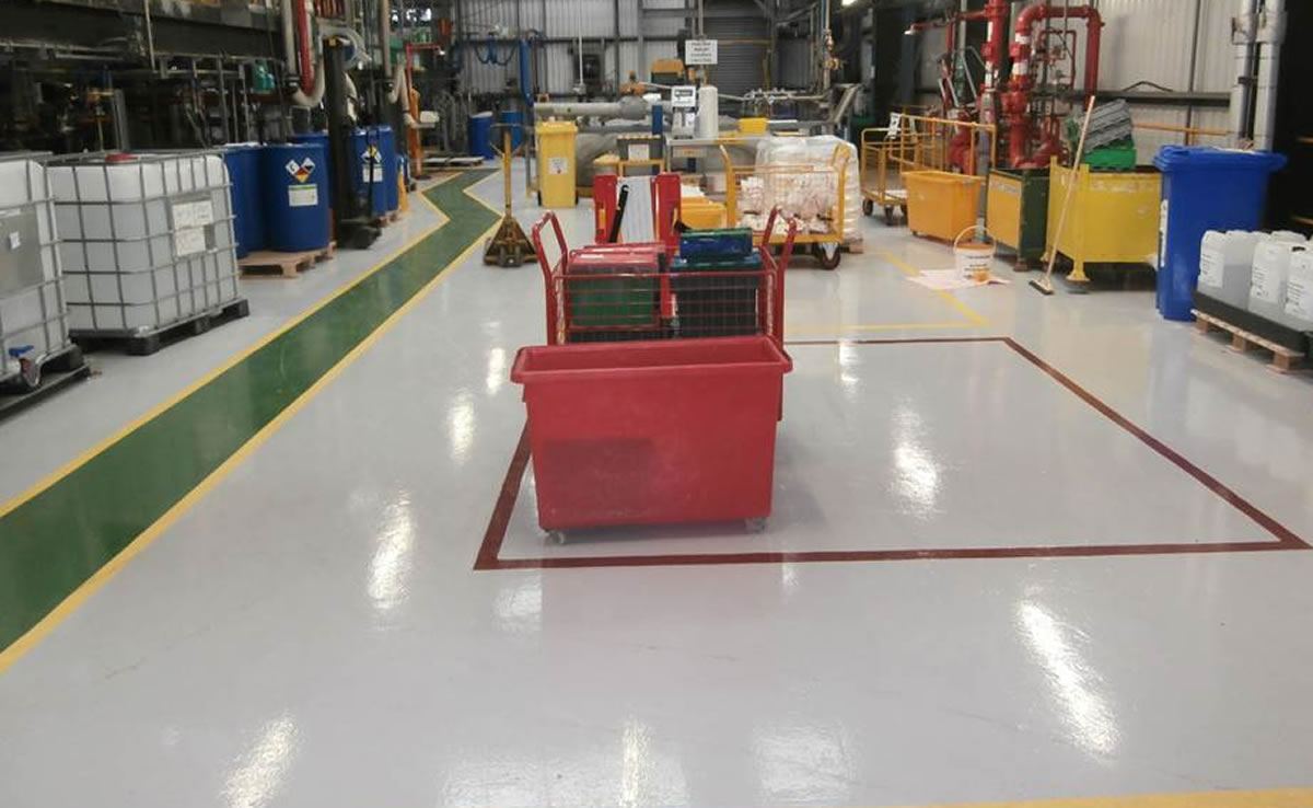 example of chemical resistant flooring