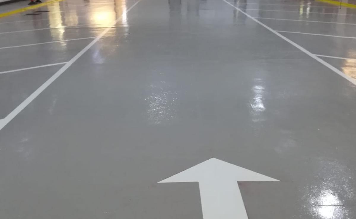 resin floor repairs for leeds ambulance hub