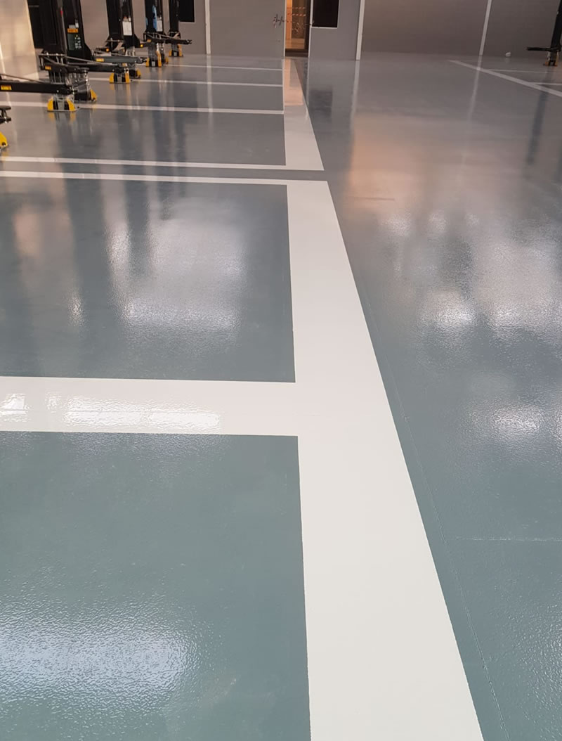 resin floor installation that is chemical resistant ferfa type 3