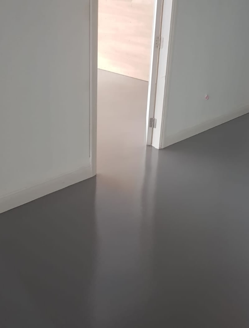 completed resin flooring works at a factory floor in yeovil somerset