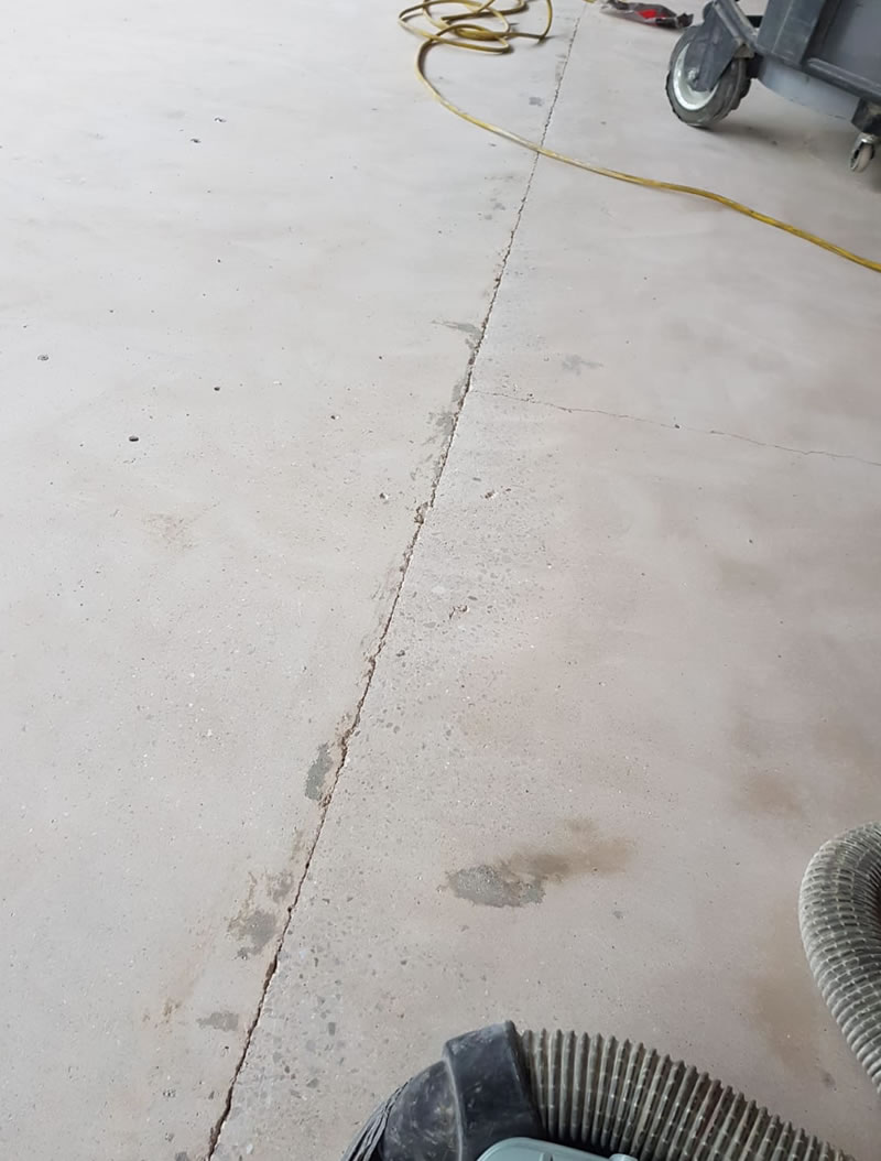 preparation works to concrete factory floor in yeovil somerset