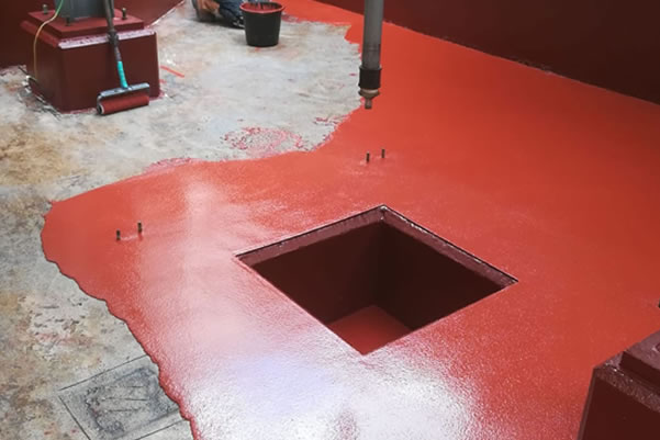 waterproof resin flooring
