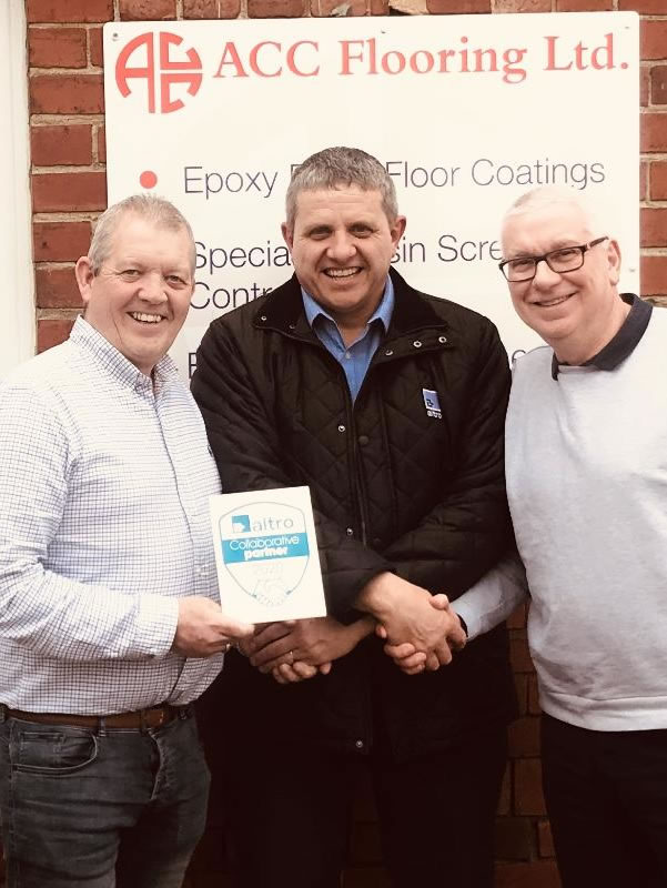 altro collaborative partner award with nick and nigel