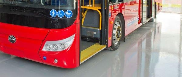 industrial flooring bus