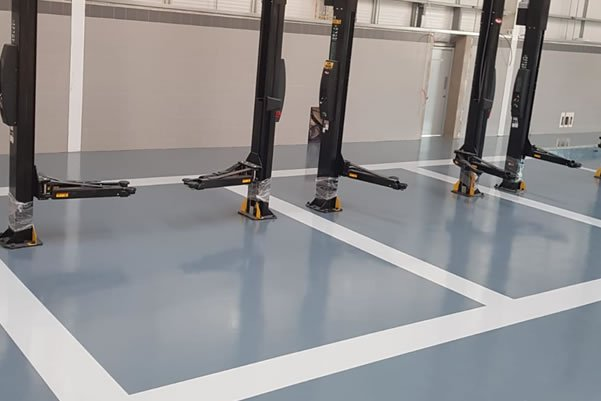 industrial flooring for workshop