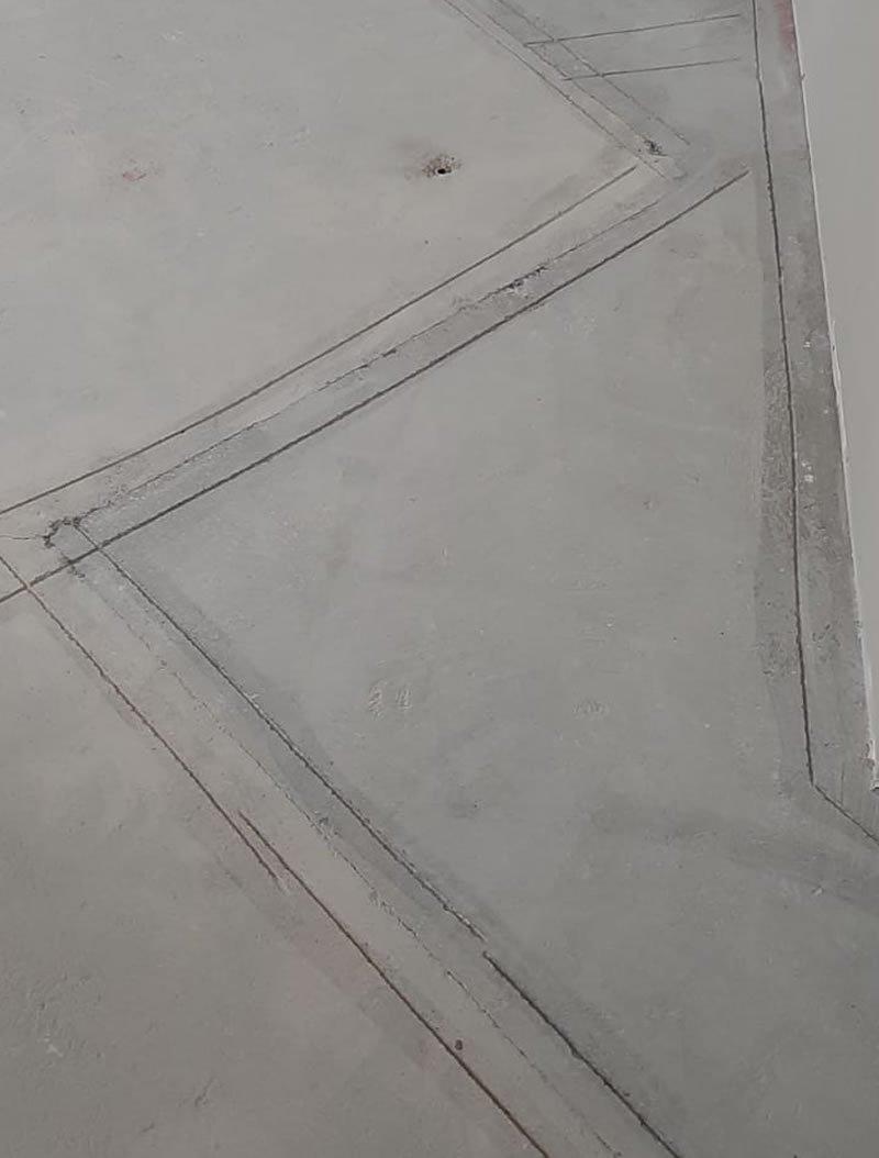 preparing the concrete floor for resin flooring