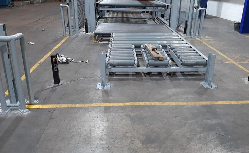 factory floor before new resin flooring was installed
