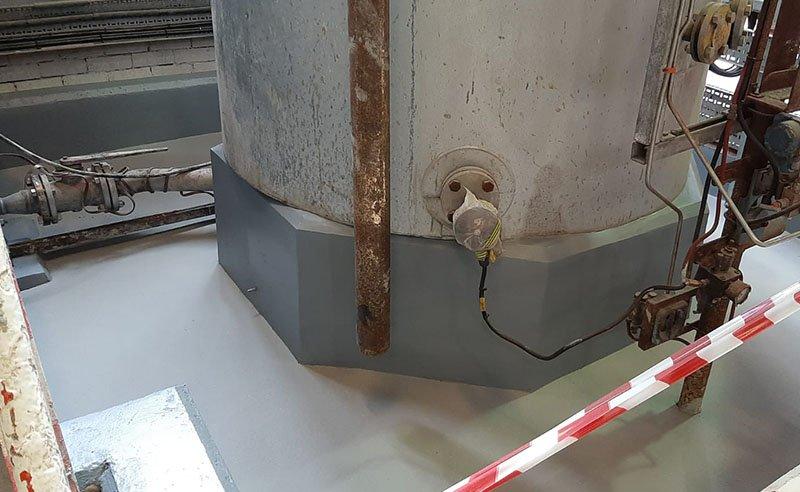 chemical bund repairs completed